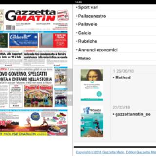 gazzetta matin image